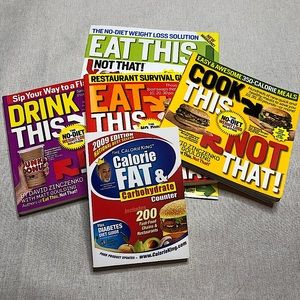 EAT THIS, NOT THAT! No-Diet Weight Loss 5 Book Set
